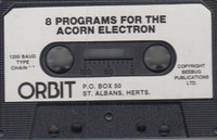 8 Programs for the Acorn Electron