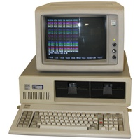 IBM 5150 with CGA Monitor