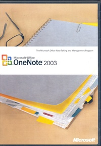 Microsoft Office One Note 2003