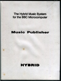The Hybrid Music System: Music Publisher