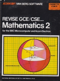 Revise GCE/CSE Mathematics 2