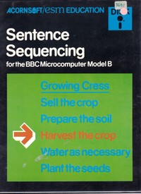 Sentence Sequencing (Disk)