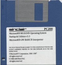 MS-DOS 3.3 and DOS Start-Up