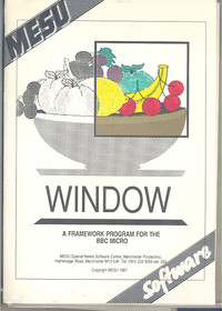 WINDOW A Framework Program for the BBC Micro
