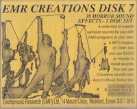 EMR Creations Disk 7 - Horror  Effects