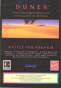Dune II - Battle for Arrakis