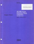 Program Product - IBM 3800 Printing Subsystem Model 3 Programmers Guide: Compatibility