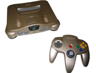 Nintendo 64 Gold Limited Edition