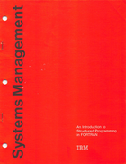 IBM - Systems Management - An Introduction to Structured Programming in FORTRAN