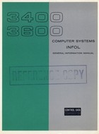 3400, 3600 Computer Systems INFOL