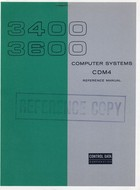3400, 3600 Computer Systems CDM4